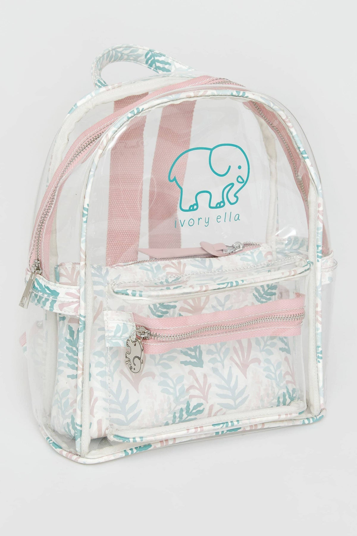 Ivory Ella Accessories Mini Clear Backpack