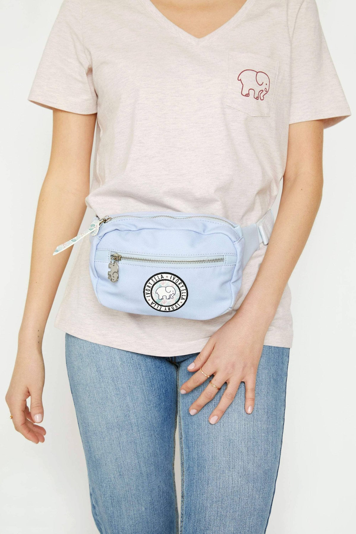 Ivory Ella Accessories Moonstone Belt Bag