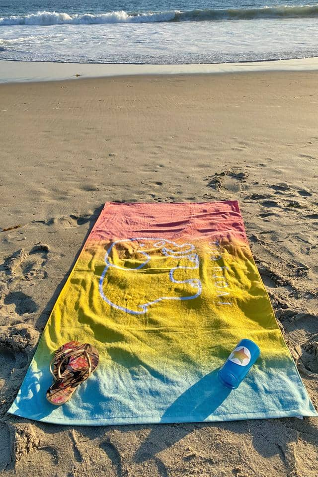 Ivory Ella Accessories Ombre Beach Towel