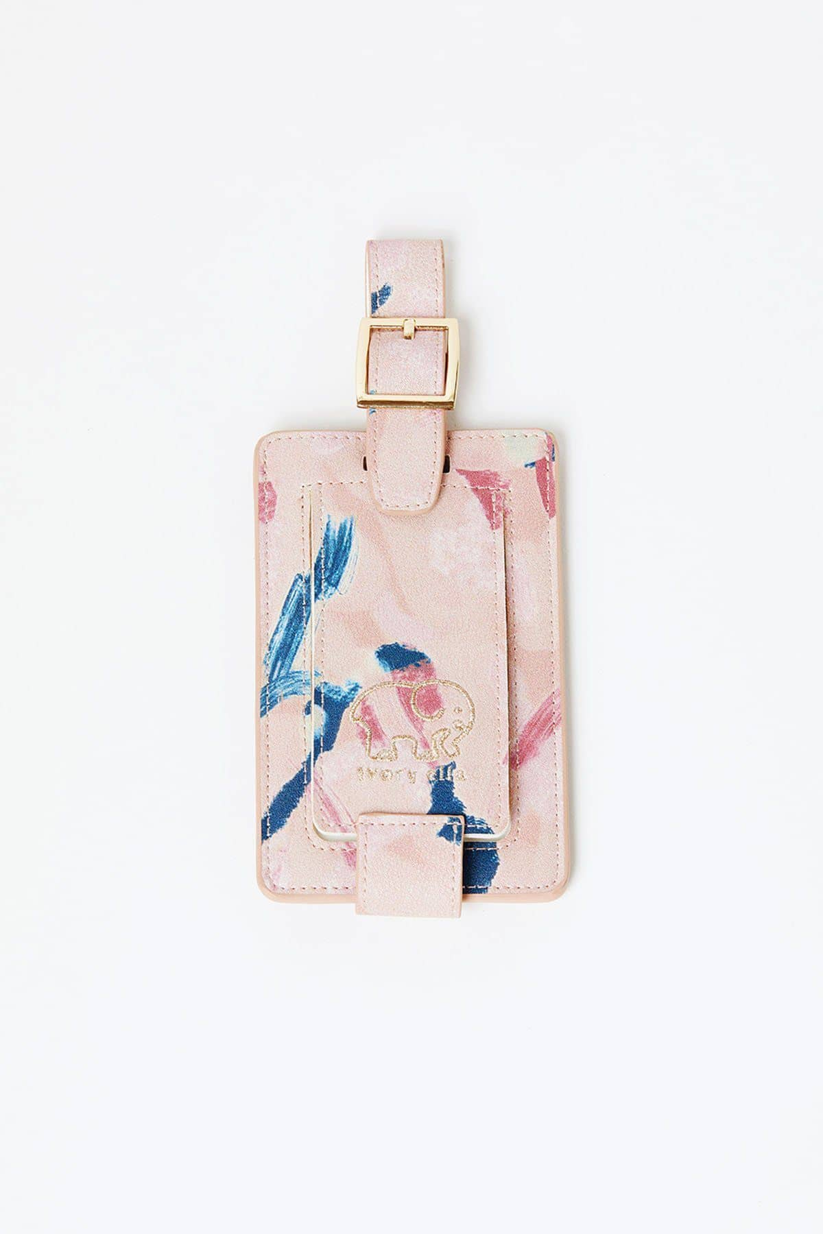 Ivory Ella Accessories OS Abstract Paint Luggage Tag