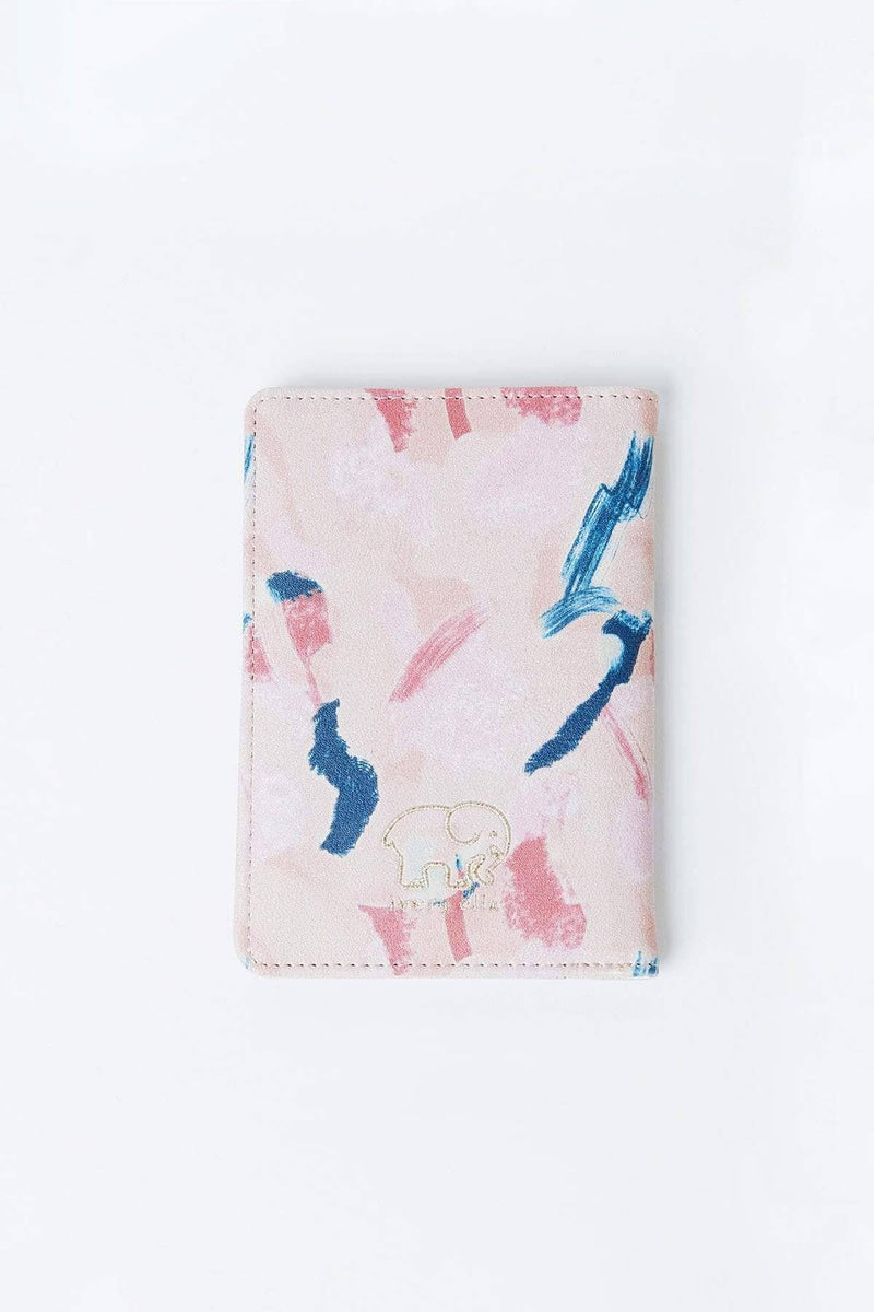 Ivory Ella Accessories OS Abstract Paint Passport Case