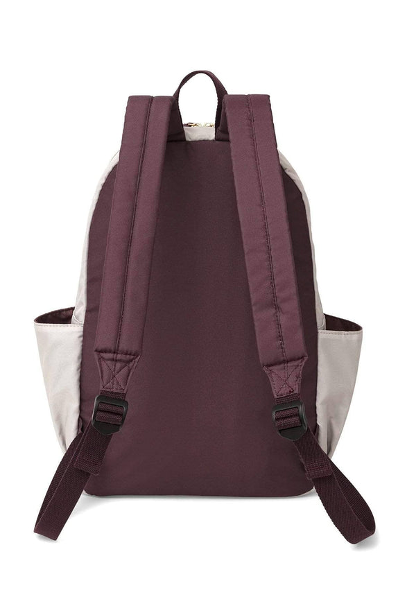 Eggplant Colorblock Backpack