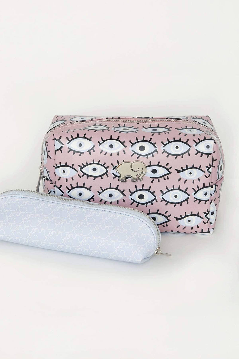 Ivory Ella Accessories OS Evil Eye Cosmetic Case Set