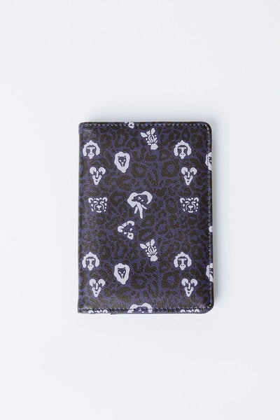 Ivory Ella Accessories OS Graystone Animal Print Passport Case