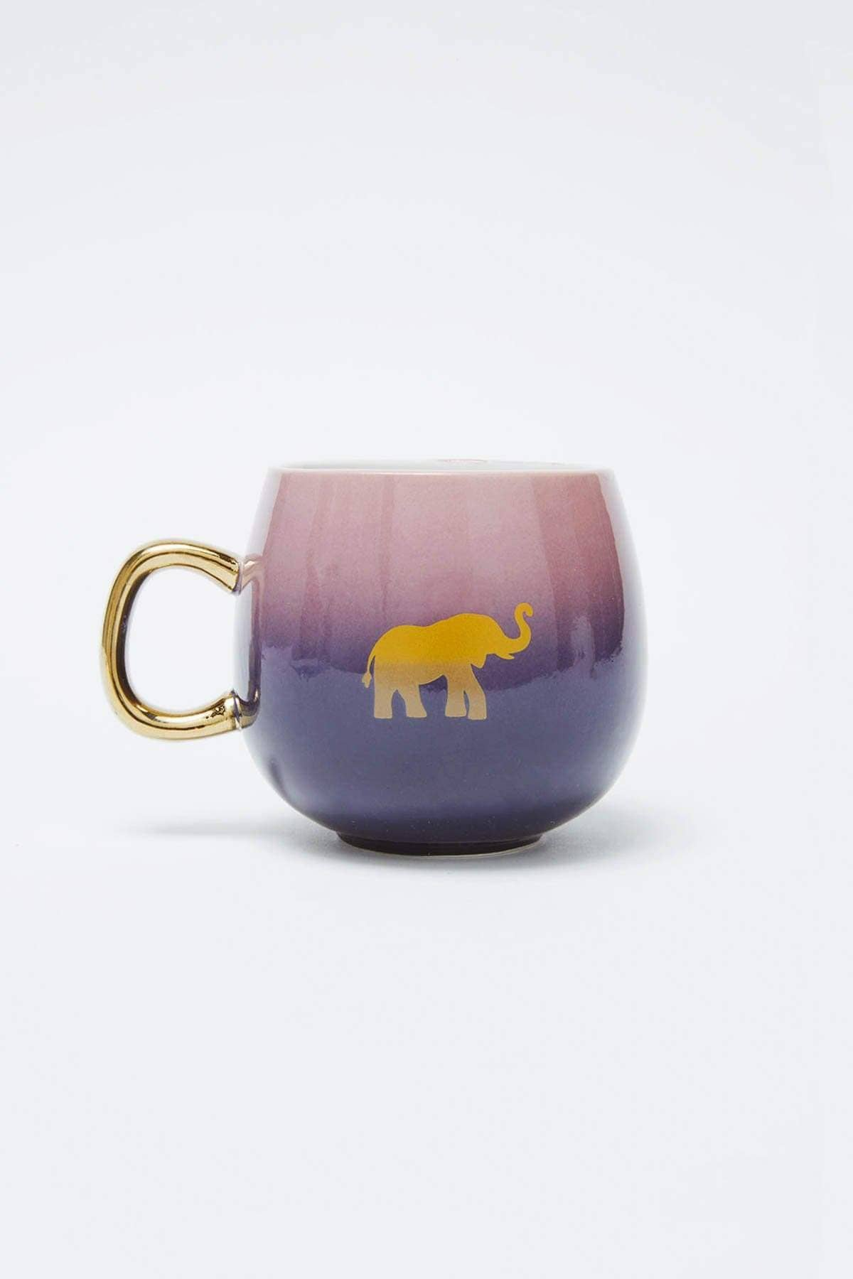 Ivory Ella Accessories OS Lucky Elephant Mug