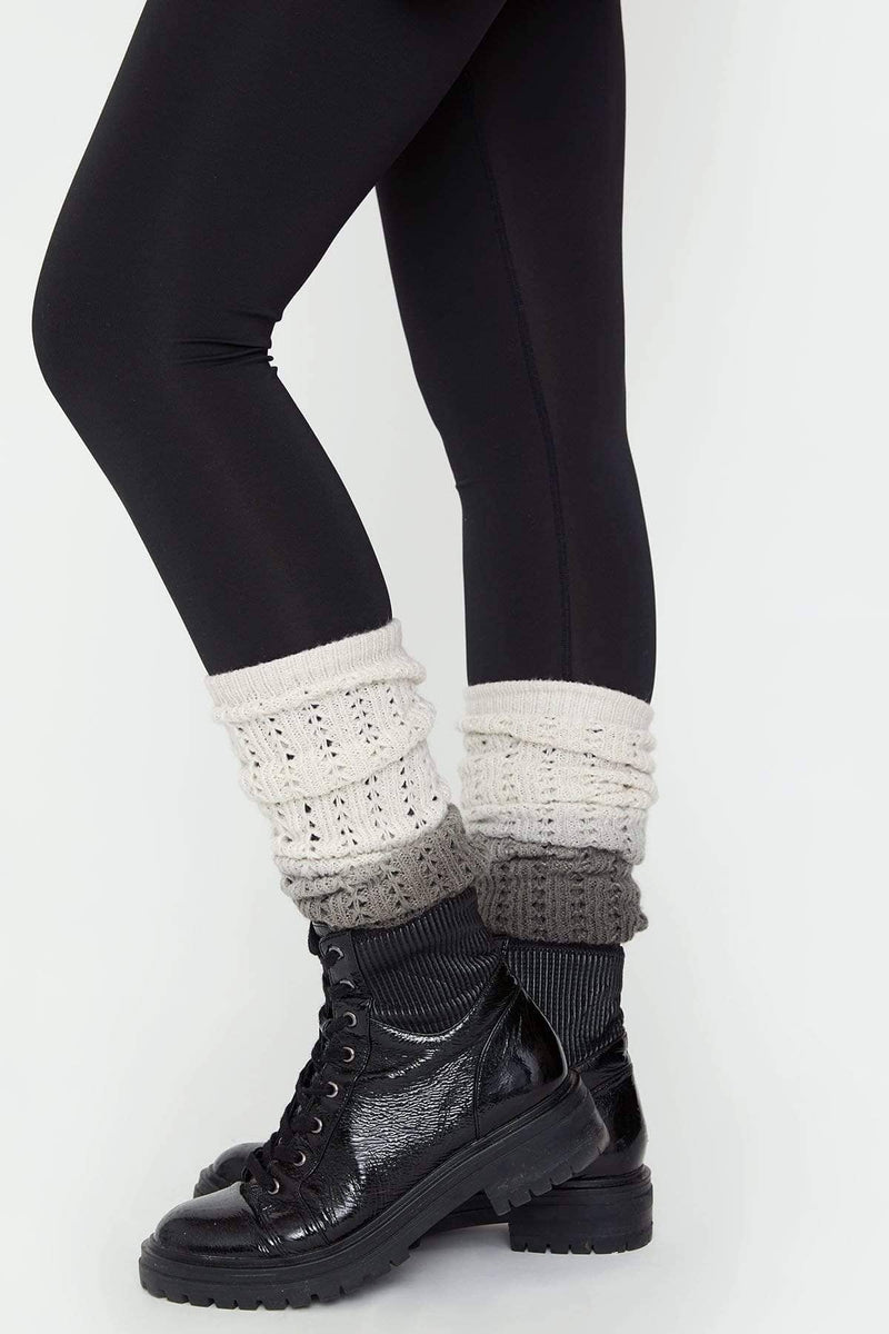 Ivory Ella Accessories OS Ombre Leg Warmers