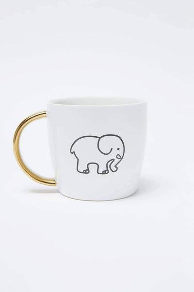 Ivory Ella Accessories OS Save The Elephants Mug