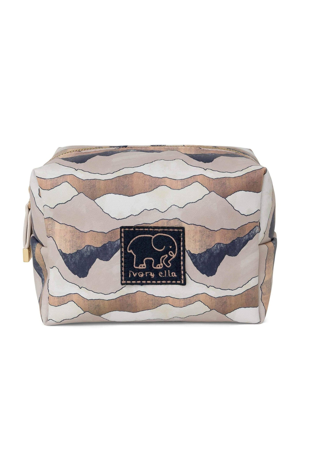 Ivory Ella Accessories OS Sepia Rose Cosmetic Bag