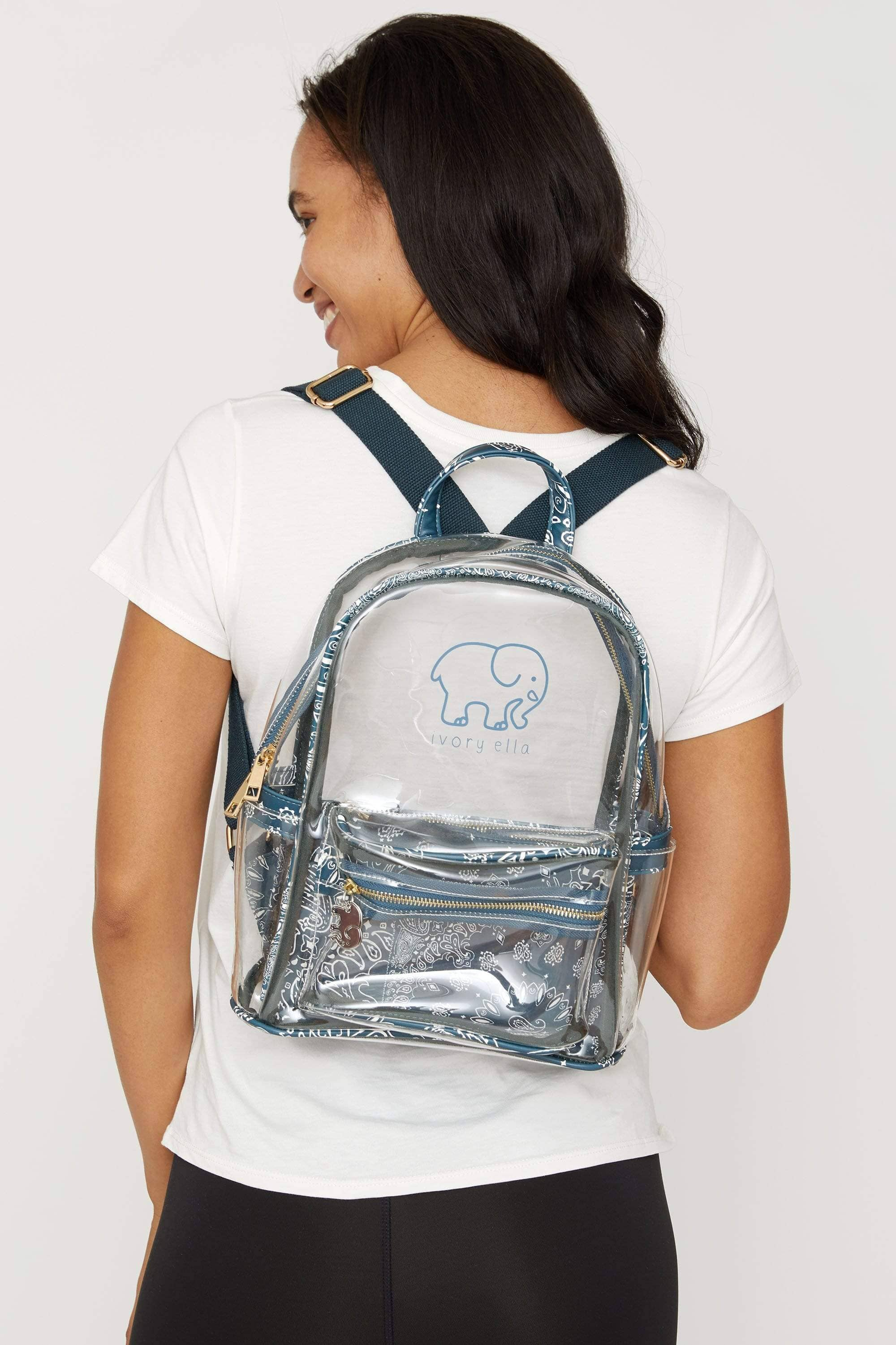Stargazer Clearbody Mini Backpack - Ivory Ella - Accessories