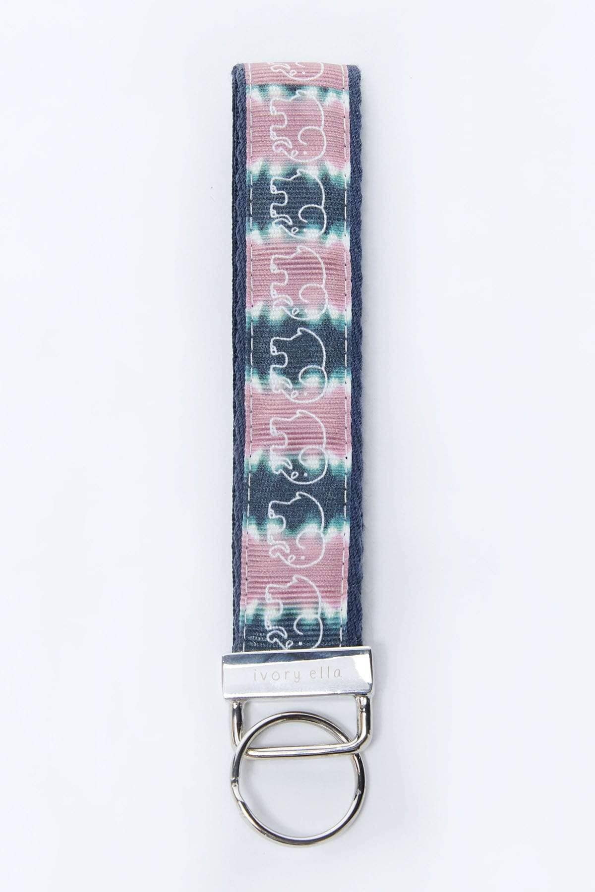 Ivory Ella Accessories OS Tie Dye Key Fob