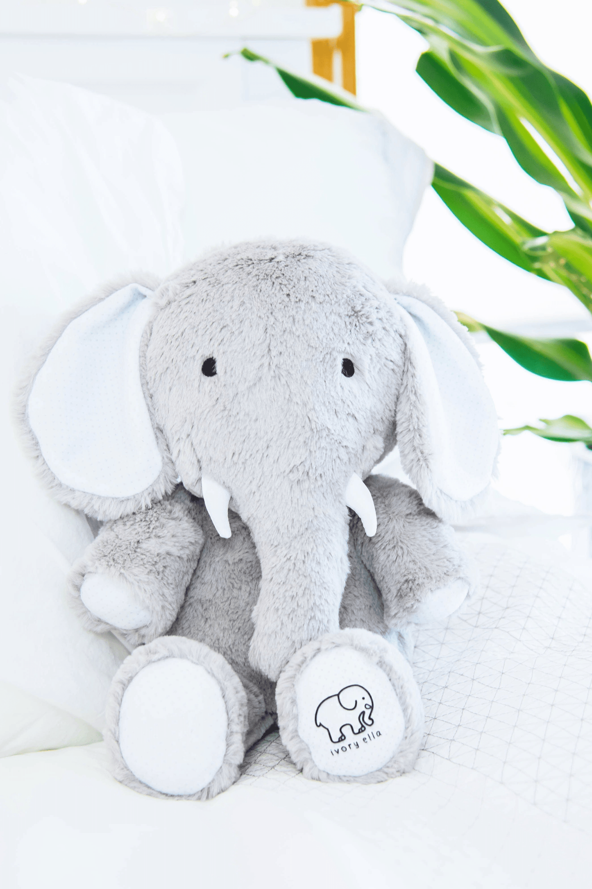 Plush Elephant - Ivory Ella - Accessories