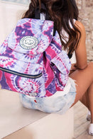 Ivory Ella Accessories Tie Dye Tie Dye Drawstring Backpack