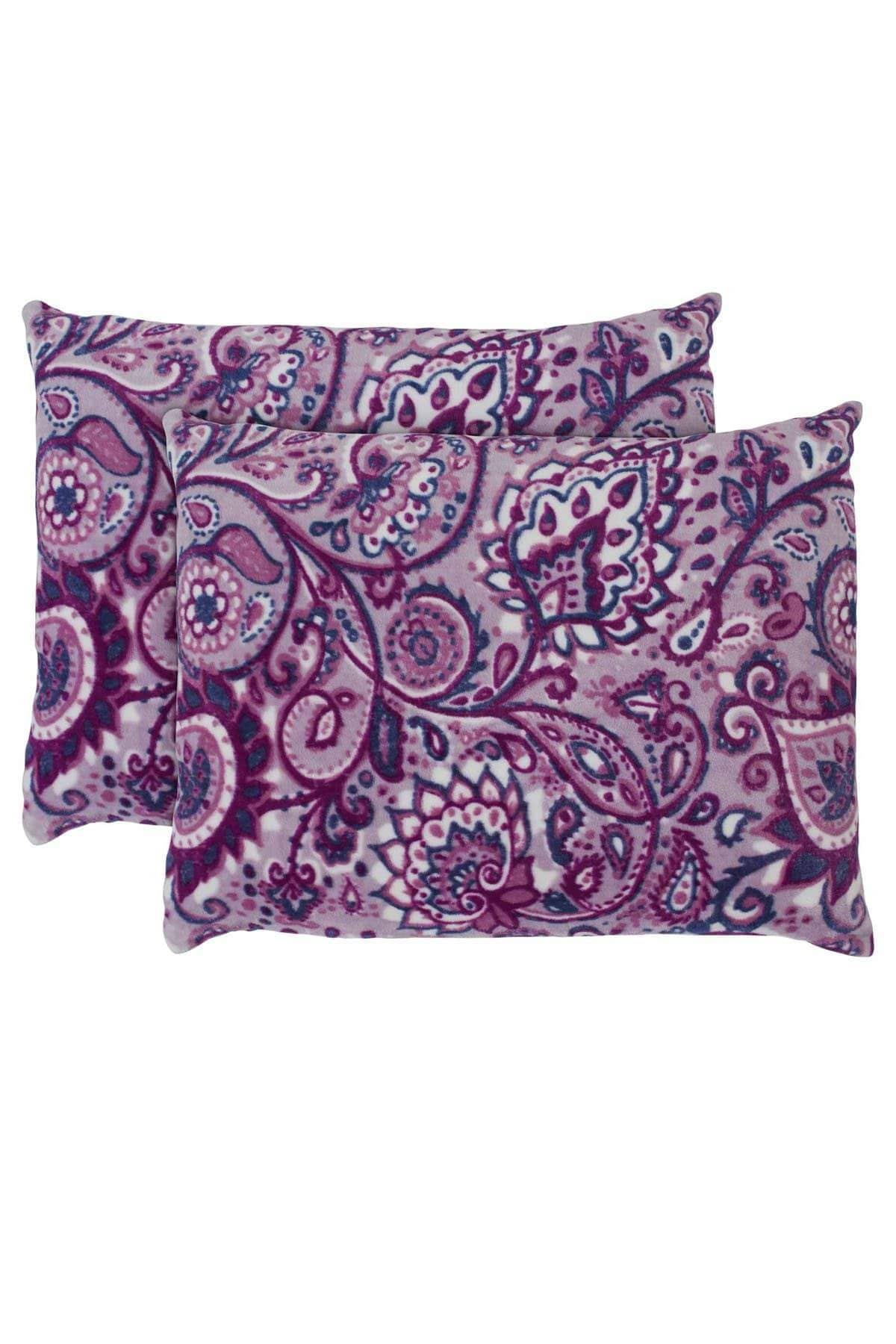 Ivory Ella BEDDING Carina Berry Ultra Soft Plush Pillow Pair