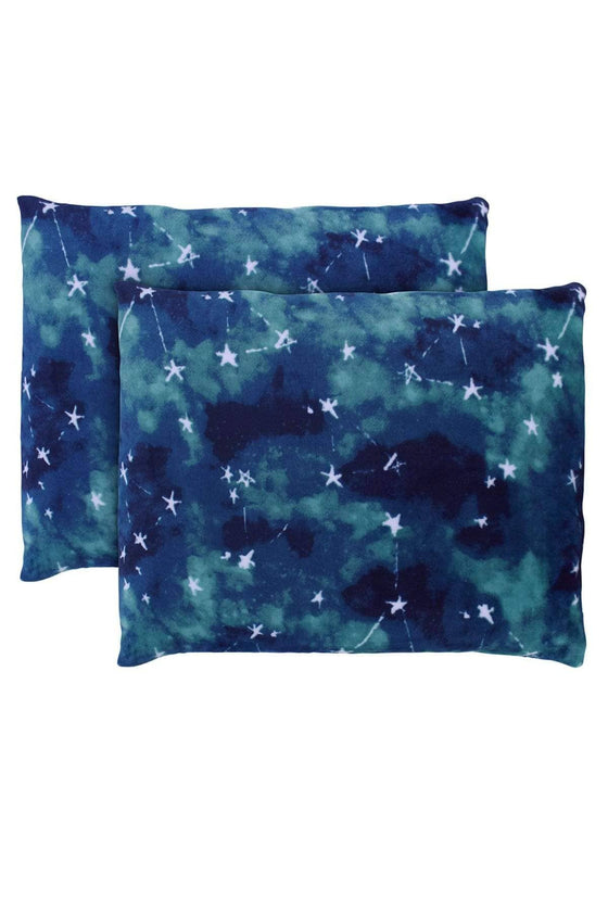 Nova Indigo Ultra Soft Plush Pillow Pair