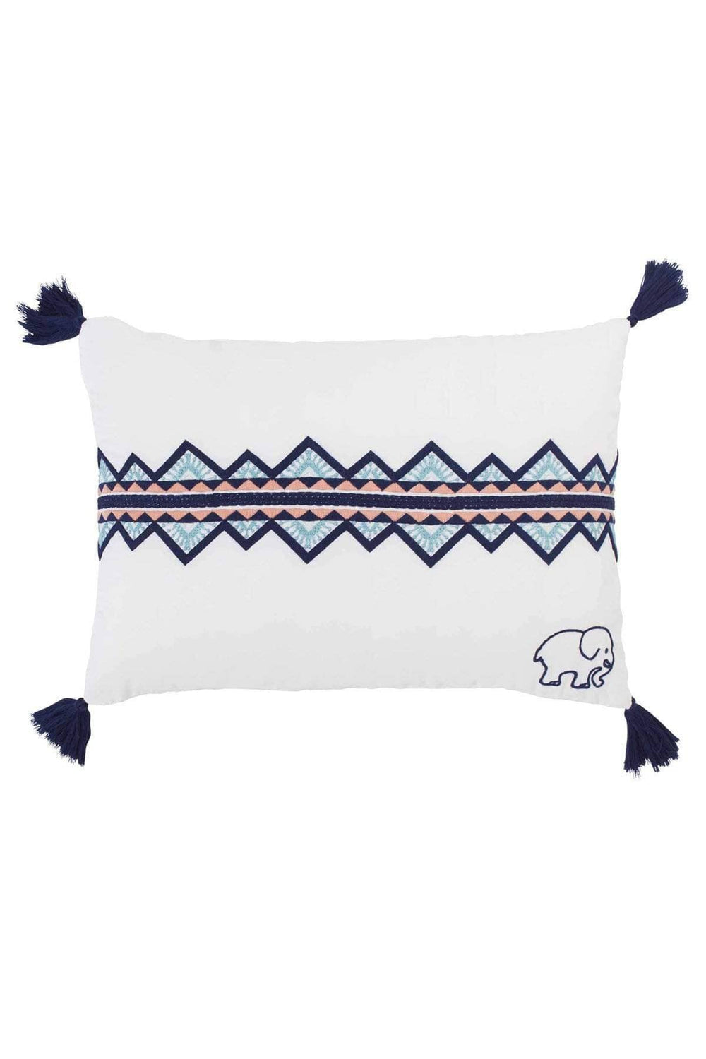 Playful Pattern Decorative Pillow - Ivory Ella - Home