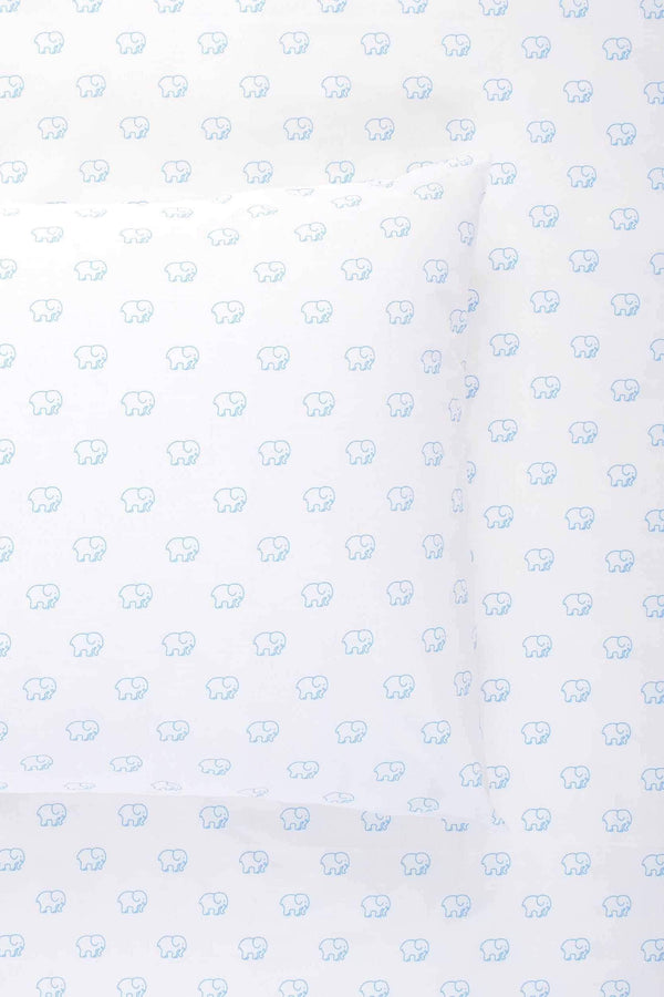 Blue Ella Toss Sheet Set by Ivory Ella