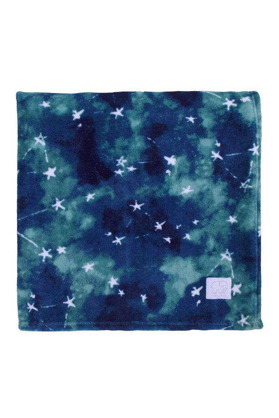 Blue Nova Star Plush Blanket