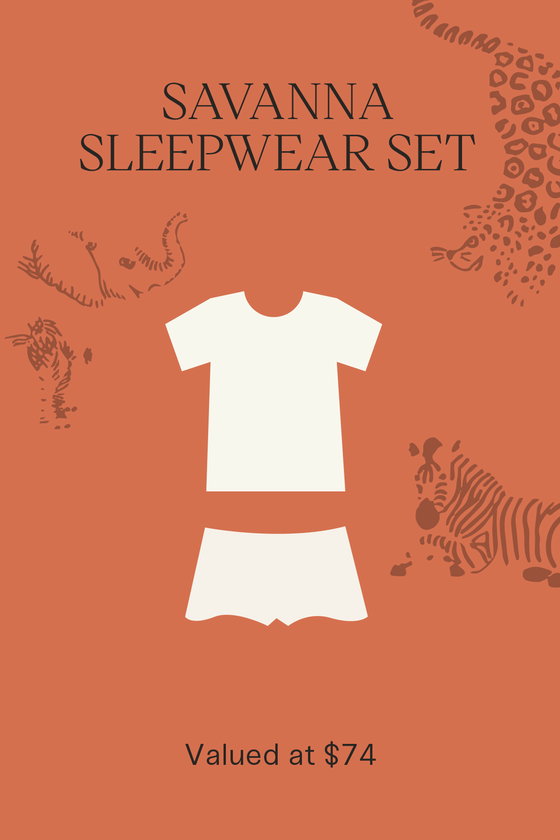 Savanna Sleepwear Set