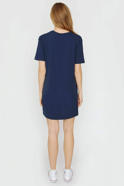 Dark Navy Tee Shirt Dress