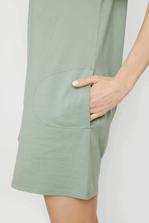 Ivory Ella Dresses XS Lily Pad Tee Shirt Dress