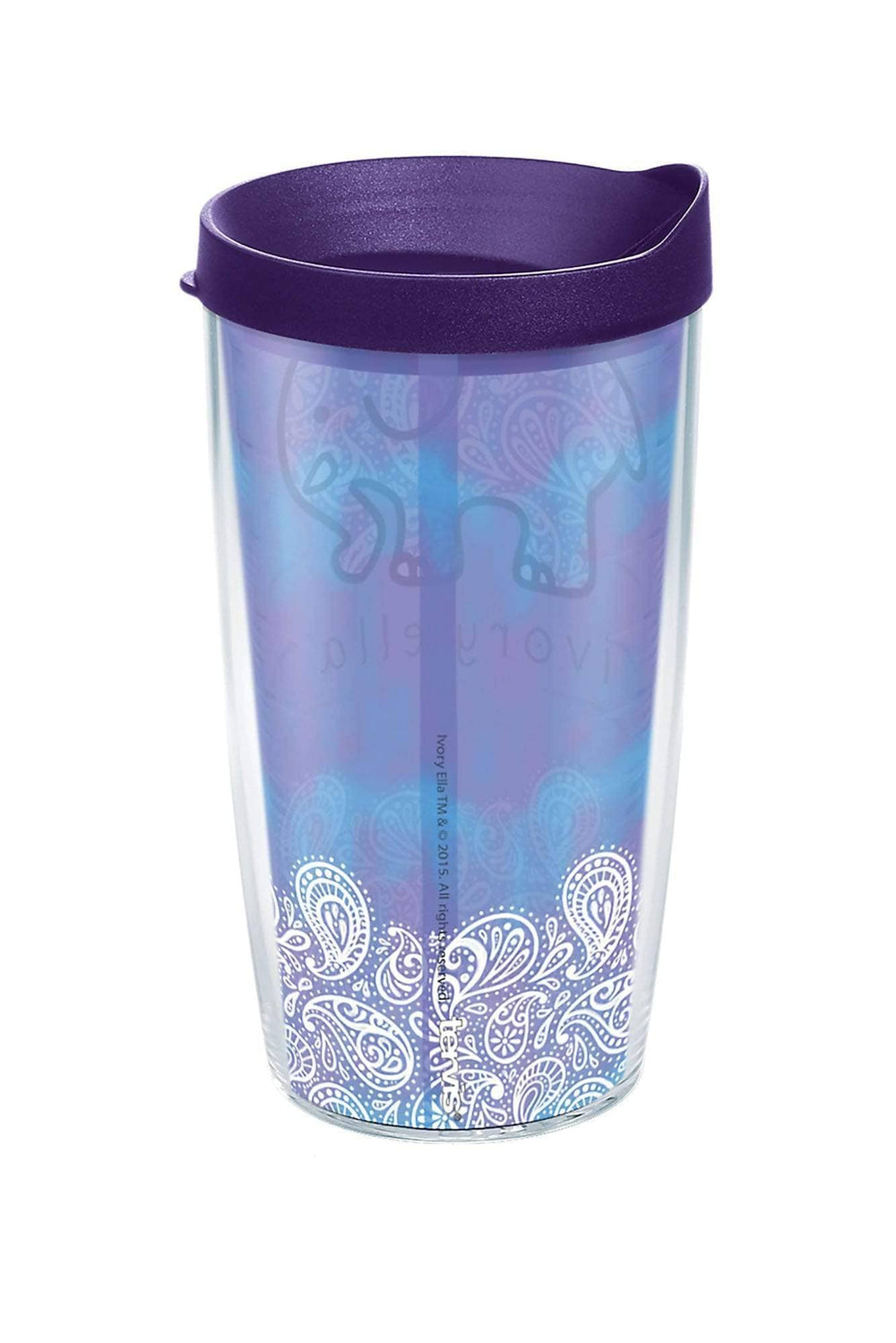 Tervis Frosted Paisley 16oz Tumbler - Ivory Ella - Drinkware