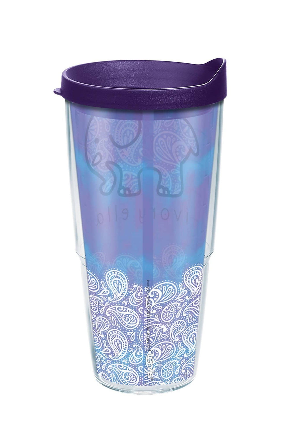 Tervis Frosted Paisley 24oz Tumbler - Ivory Ella - Drinkware