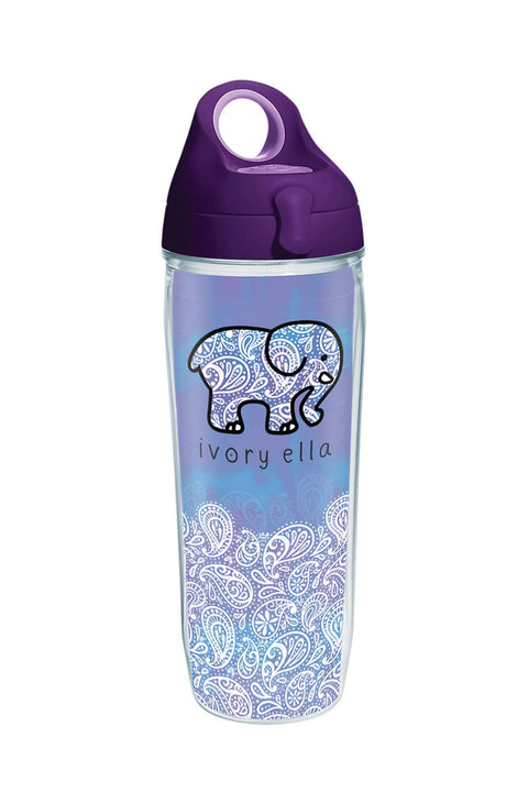 Ivory Ella Drinkware Tervis Frosted Paisley Water Bottle