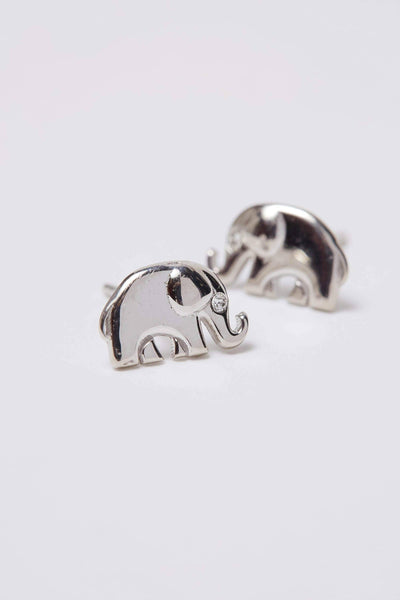 Ivory Ella Jewelry Silver Stud Earrings