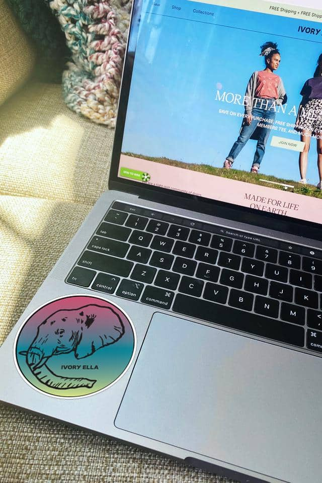 Ivory Ella June Sticker Pack