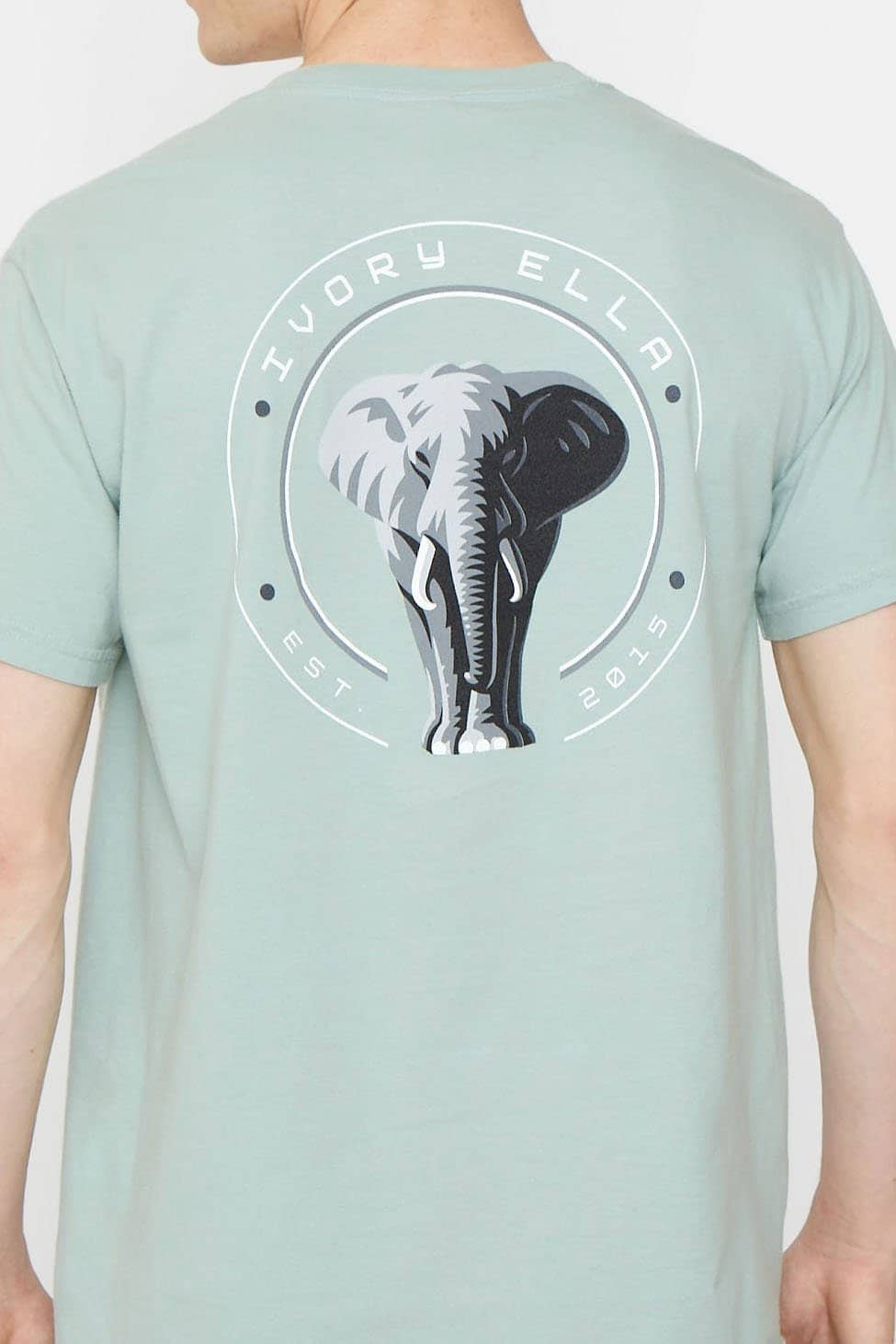Lily Pad Stand Up for Elephants Classic Fit Tee