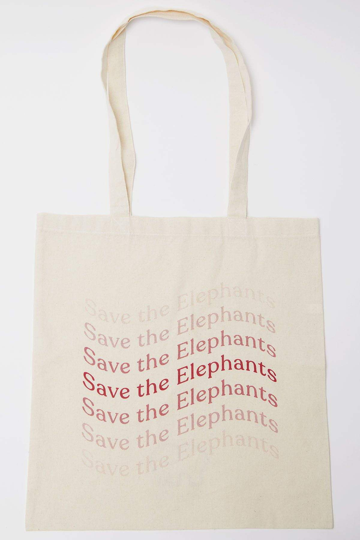 Ivory Ella Save The Elephants Tote