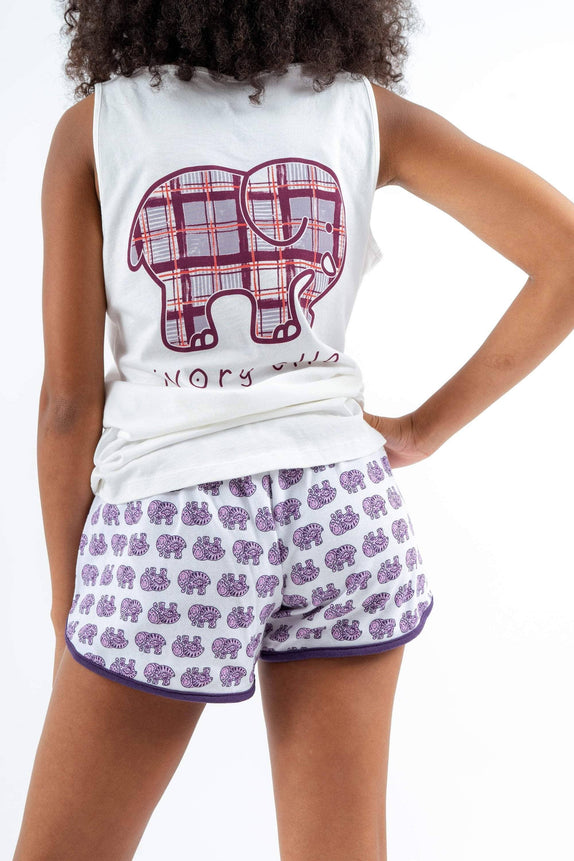 Allover Ella Sleep Shorts