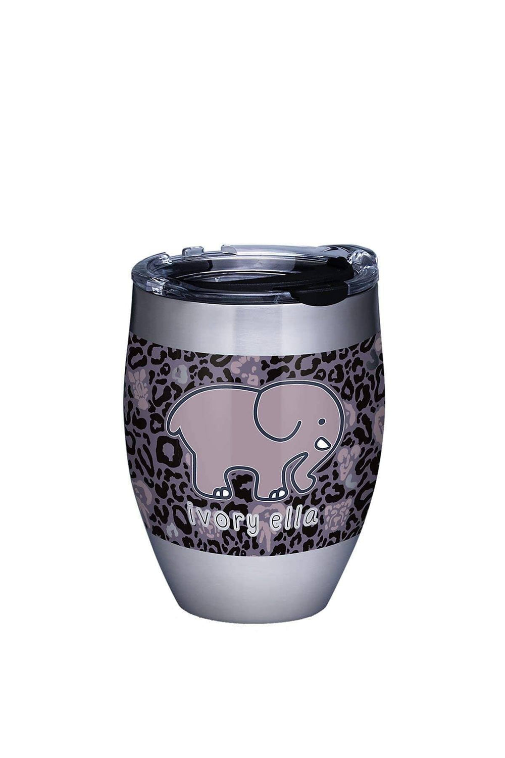 Ivory Ella Stainless Steel Leopard 12oz Tervis Tumbler