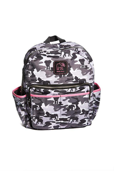Ivory Ella W Bags Black Camo Camo Backpack