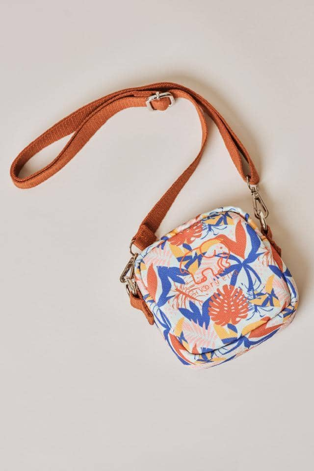 Ivory Ella W Bags Multi Tropical Leaves Mini Crossbody Bag