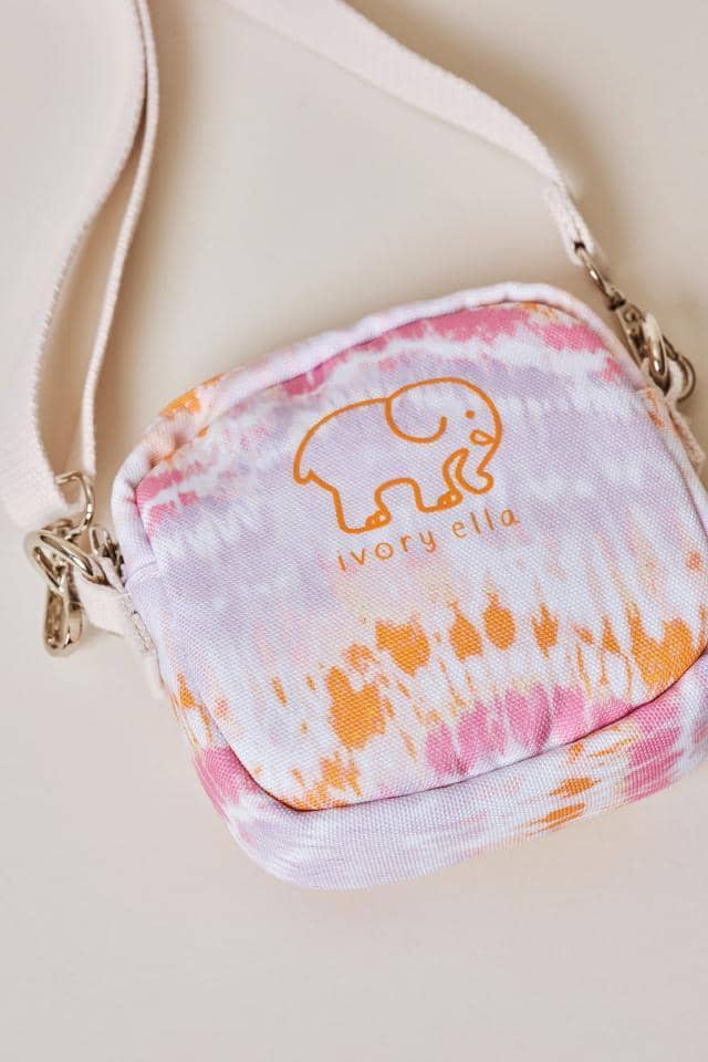 Ivory Ella W Bags Tie Dye Tie Dye Waves Mini Crossbody Bag