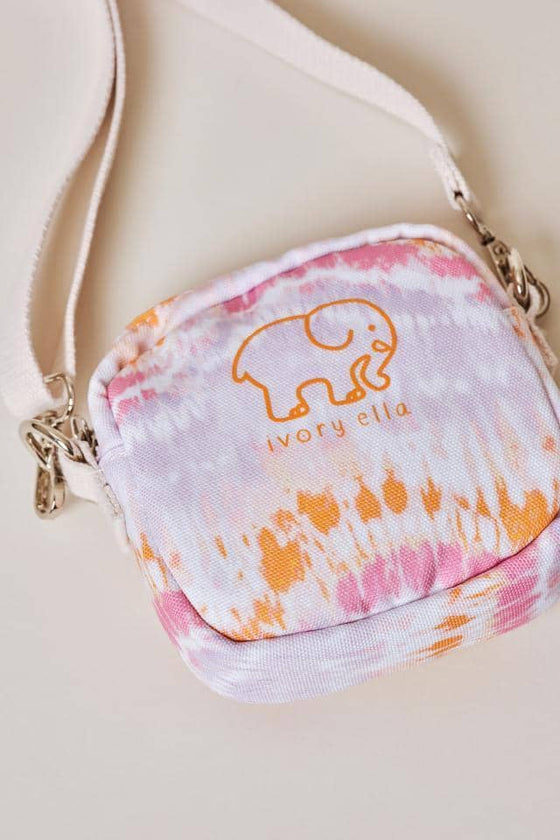 Tie Dye Waves Mini Crossbody Bag
