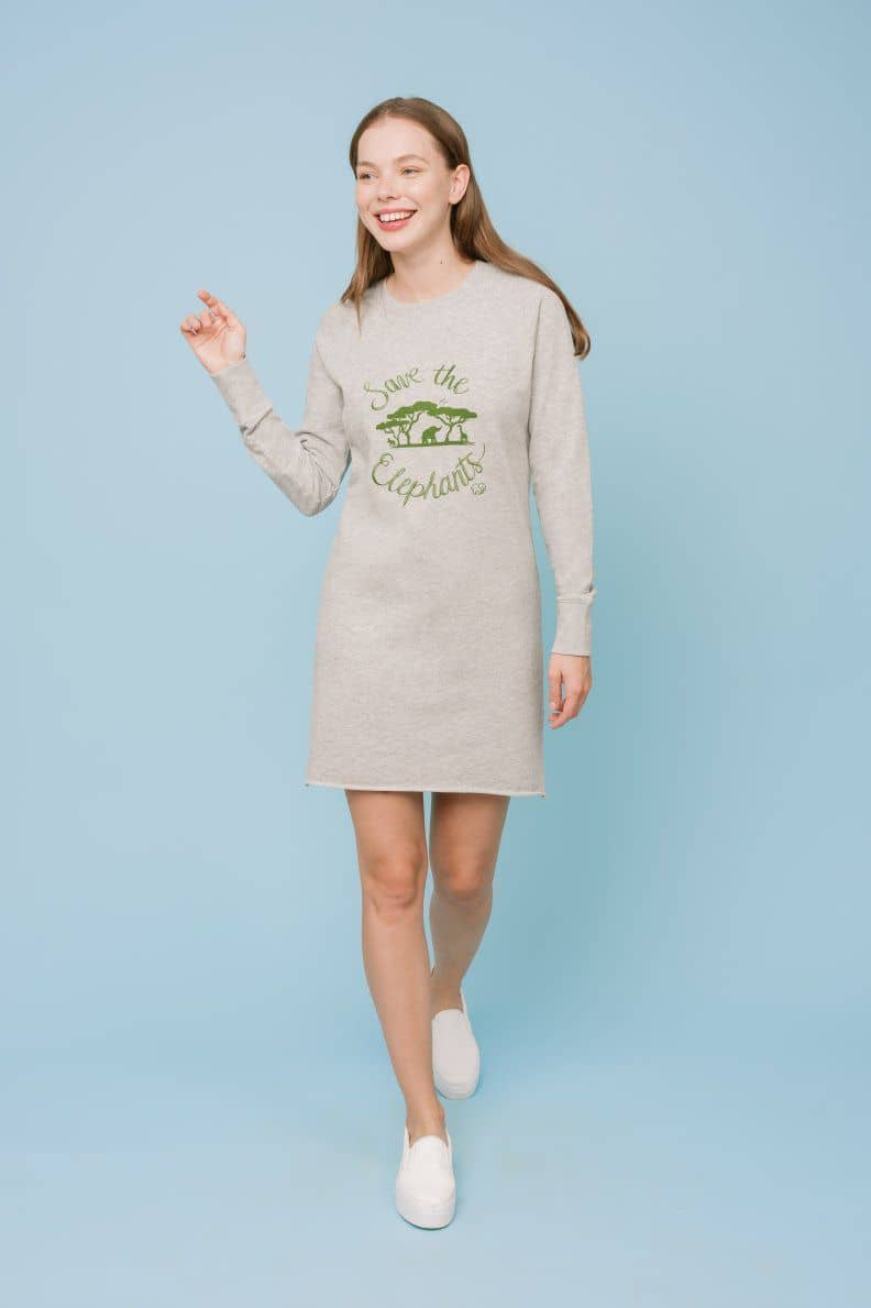Ivory Ella W Dresses Aida Regular Fit Sweatshirt Mission Dress