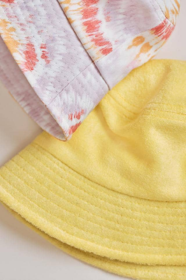 Ivory Ella W Hats Limelight Yellow Bucket Hat