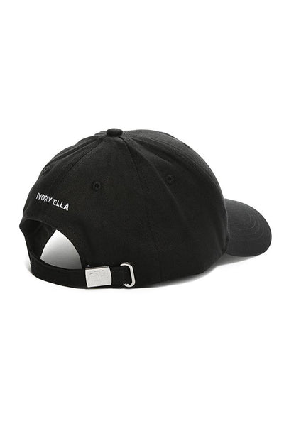 Ivory Ella W Hats Washed Black Dream Big Baseball Cap