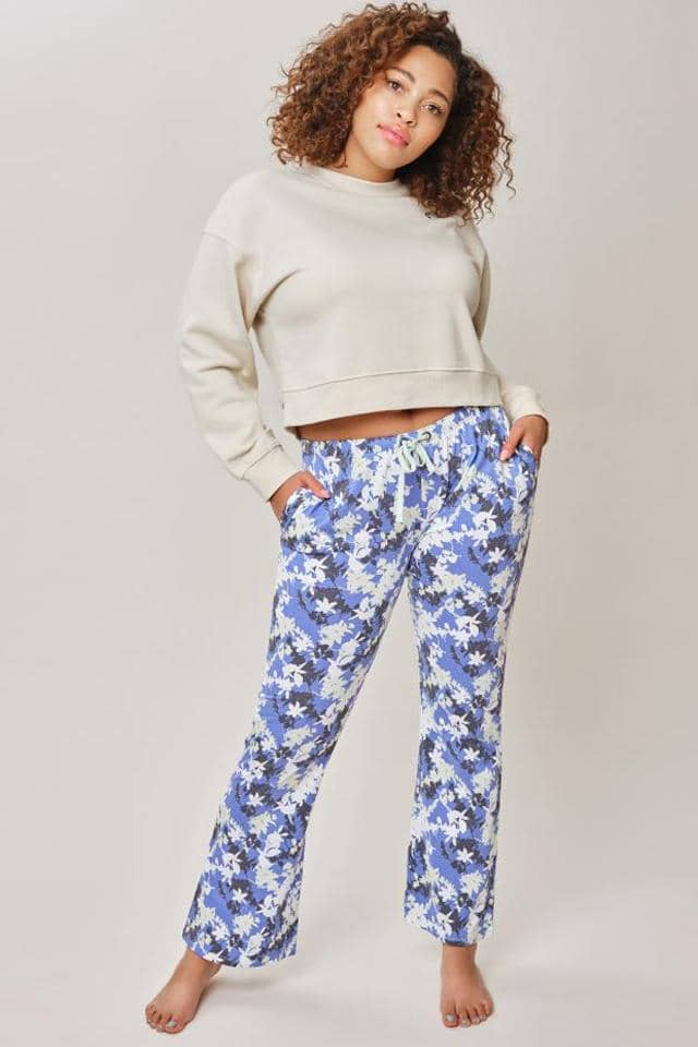 Ivory Ella W Intimates Baja Blue / XS Andrea Sleep Pants