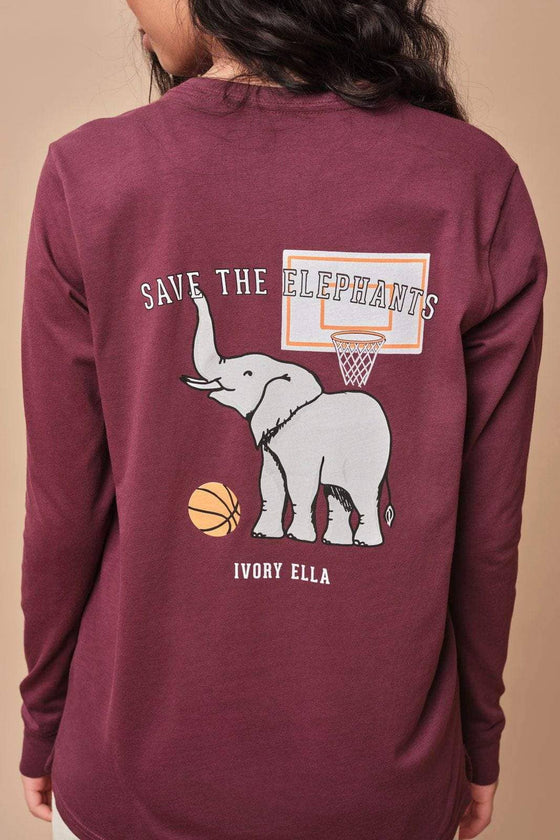 Ella Regular Fit Basketball Varsity Long Sleeve
