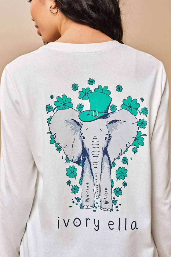 Ella Regular Fit St. Patty's Long Sleeve