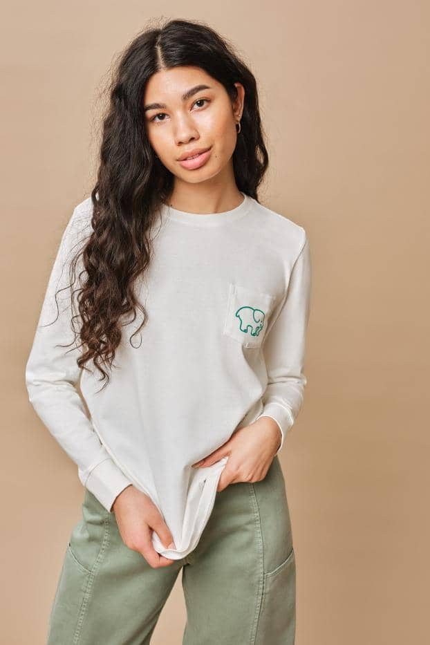 Ivory Ella W Long Sleeve Knits Ella Fit St. Patty's Long Sleeve