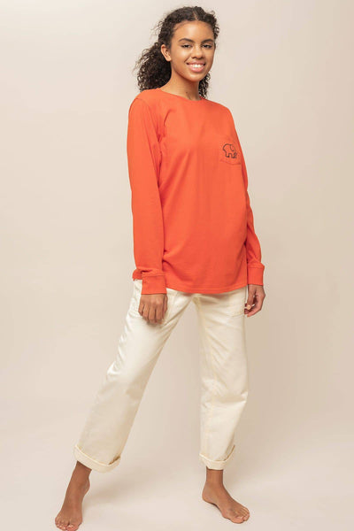 Ivory Ella W Long Sleeve Knits Ella Fit Stars Long Sleeve