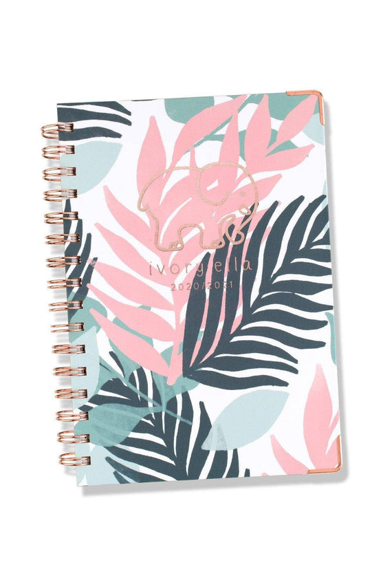 Floral Ivory Ella Small Planner