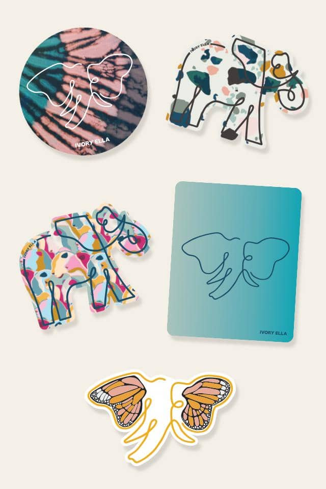 Ivory Ella W Office July Sticker Pack 2020
