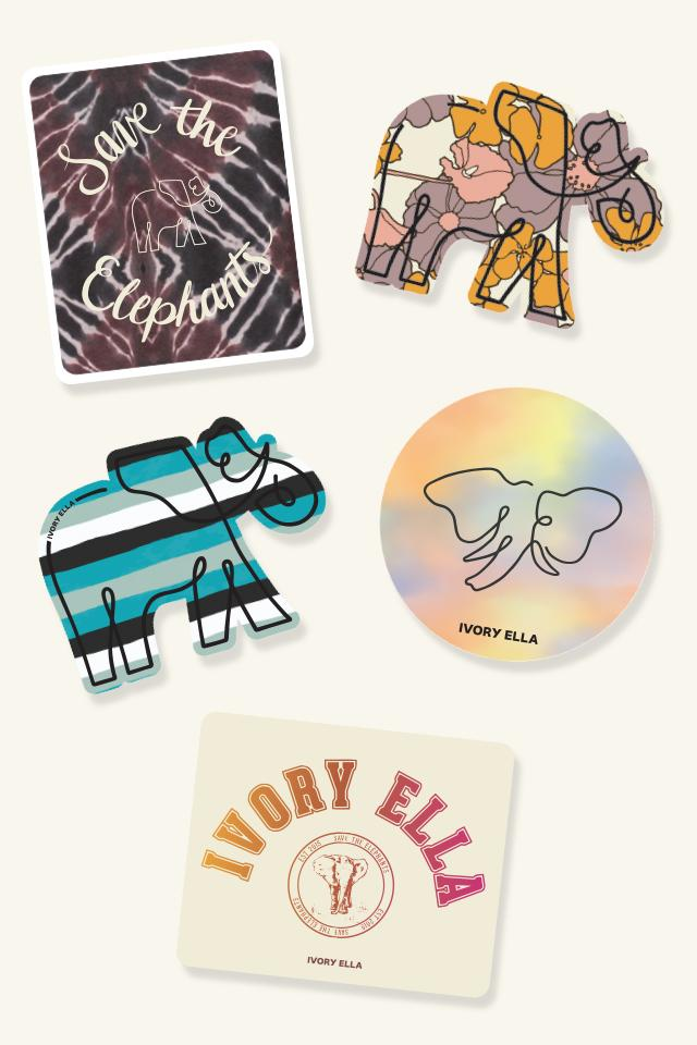 Ivory Ella W Office Multi August Sticker Pack