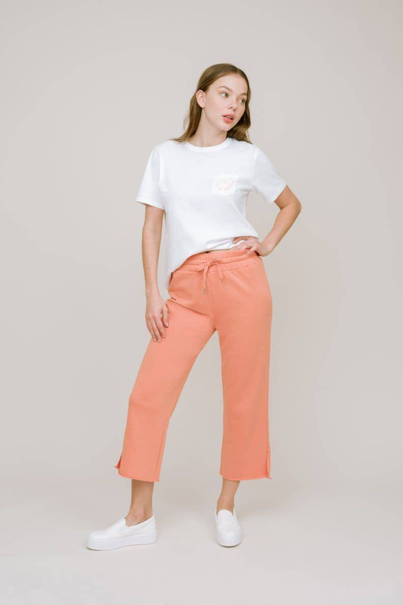 Ivory Ella W Pants Clay / XS Alex Cropped Jogger