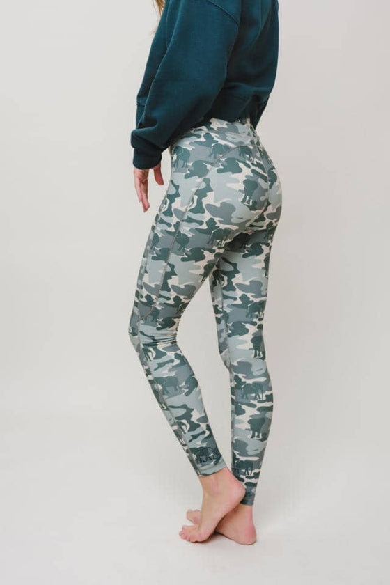 Esma High Waist Camo Legging